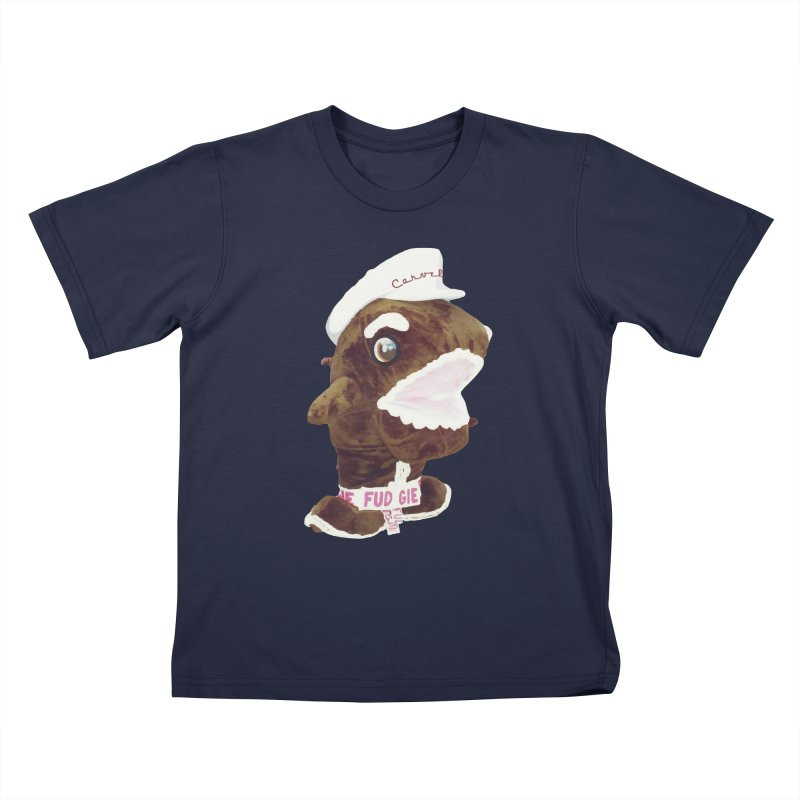 Fudgie Throwback Mascot Kids T-Shirt by Carvel Ice Cream's Shop