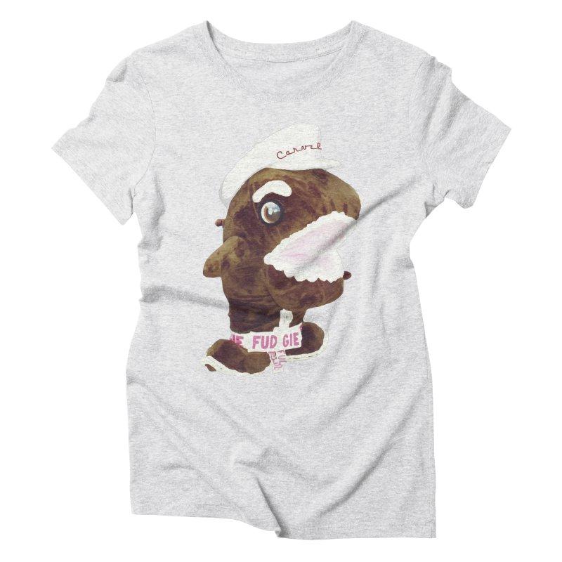 Fudgie Throwback Mascot Women's T-Shirt by Carvel Ice Cream's Shop