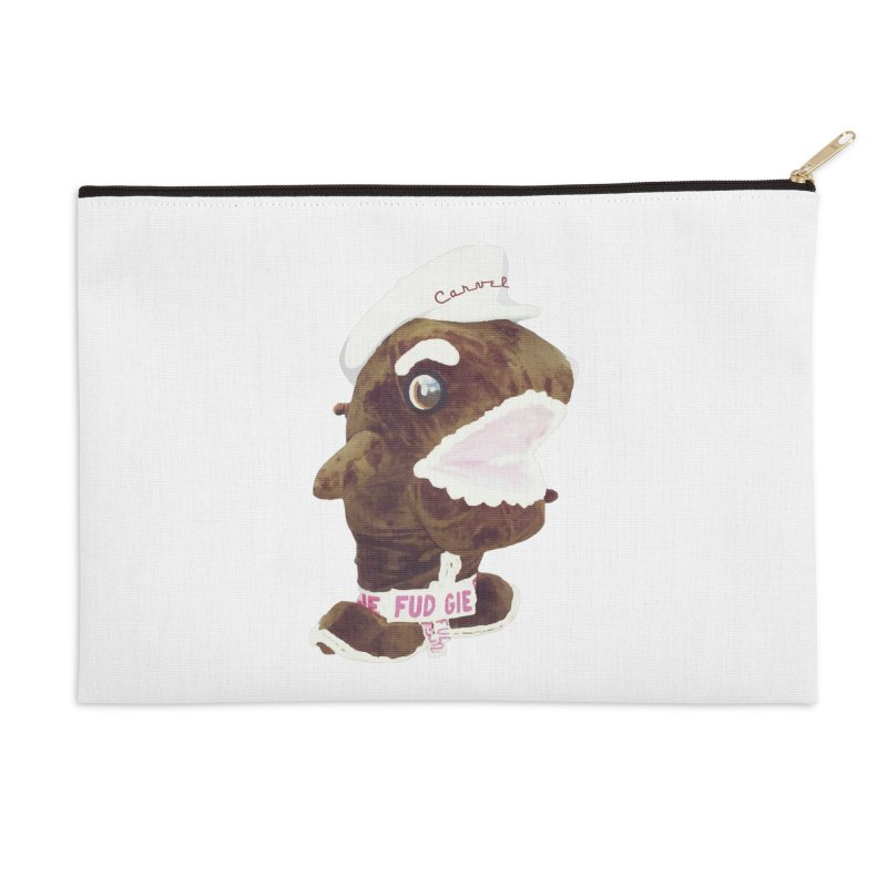 Fudgie Throwback Mascot Accessories Zip Pouch by Carvel Ice Cream's Shop