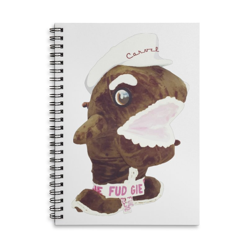 Fudgie Throwback Mascot Accessories Notebook by Carvel Ice Cream's Shop