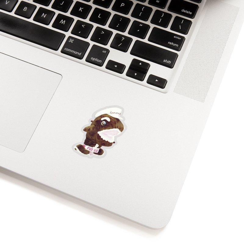 Fudgie Throwback Mascot Accessories Sticker by Carvel Ice Cream's Shop