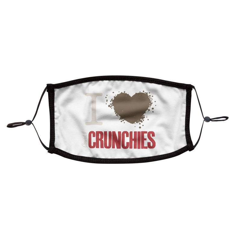 I love Crunchies Accessories Face Mask by Carvel Ice Cream's Shop