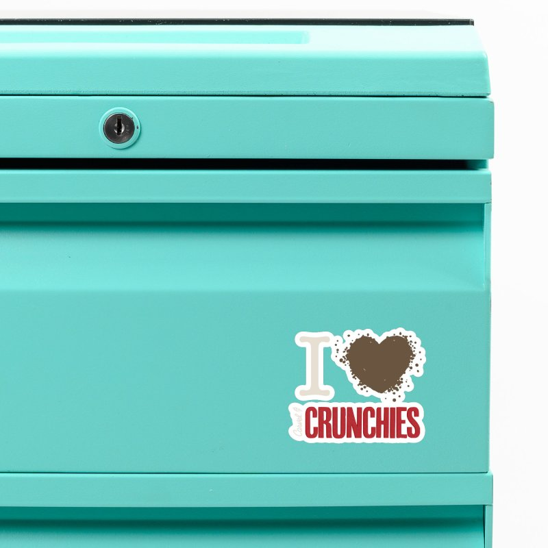 I love Crunchies Accessories Magnet by Carvel Ice Cream's Shop