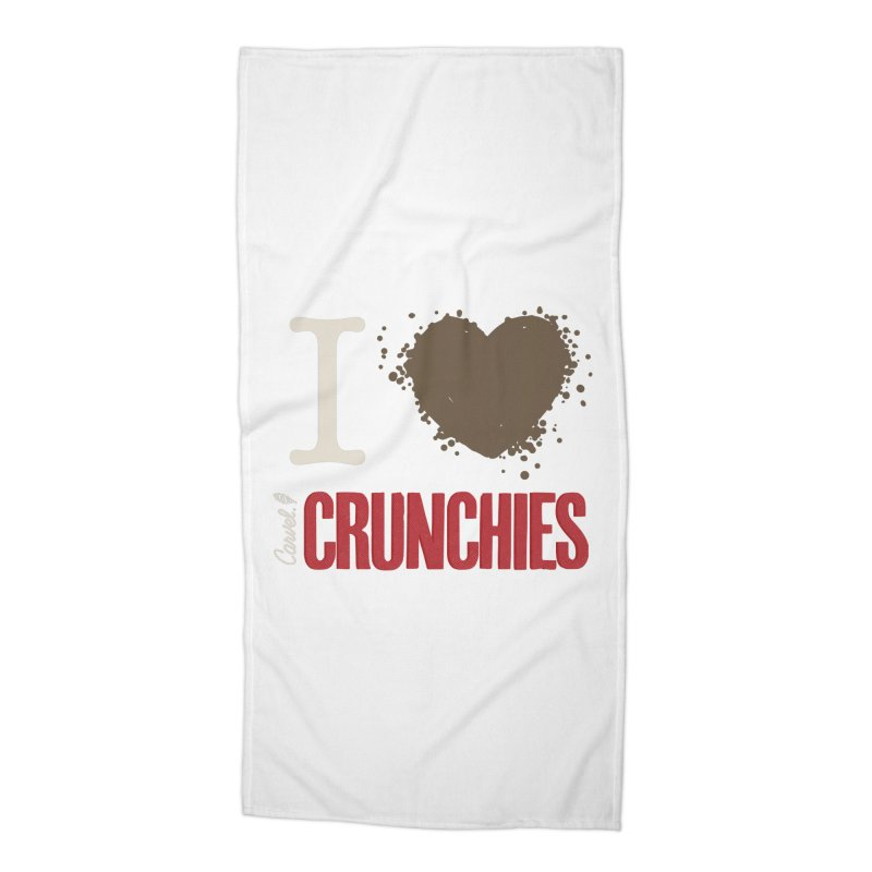 I love Crunchies Accessories Beach Towel by Carvel Ice Cream's Shop