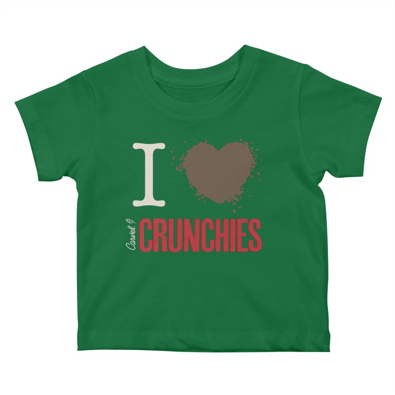 I love Crunchies Kids Baby T-Shirt by Carvel Ice Cream's Shop