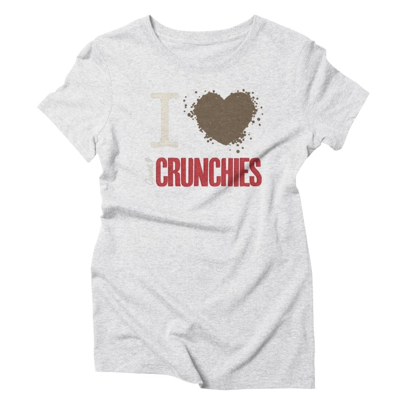 I love Crunchies Women's T-Shirt by Carvel Ice Cream's Shop