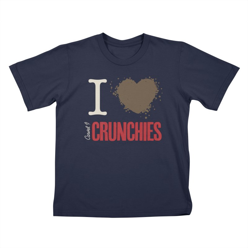 I love Crunchies Kids T-Shirt by Carvel Ice Cream's Shop