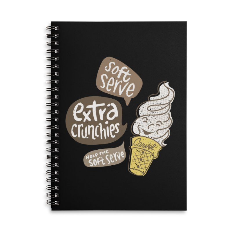 Soft Serve Extra Crunchies Accessories Notebook by Carvel Ice Cream's Shop