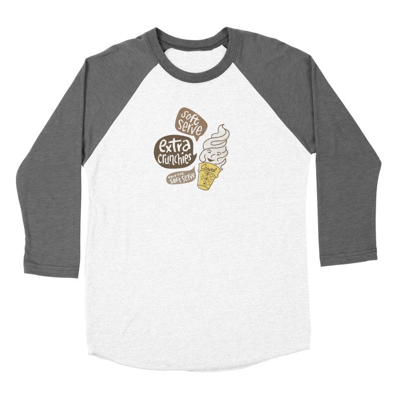 Soft Serve Extra Crunchies Women's Longsleeve T-Shirt by Carvel Ice Cream's Shop