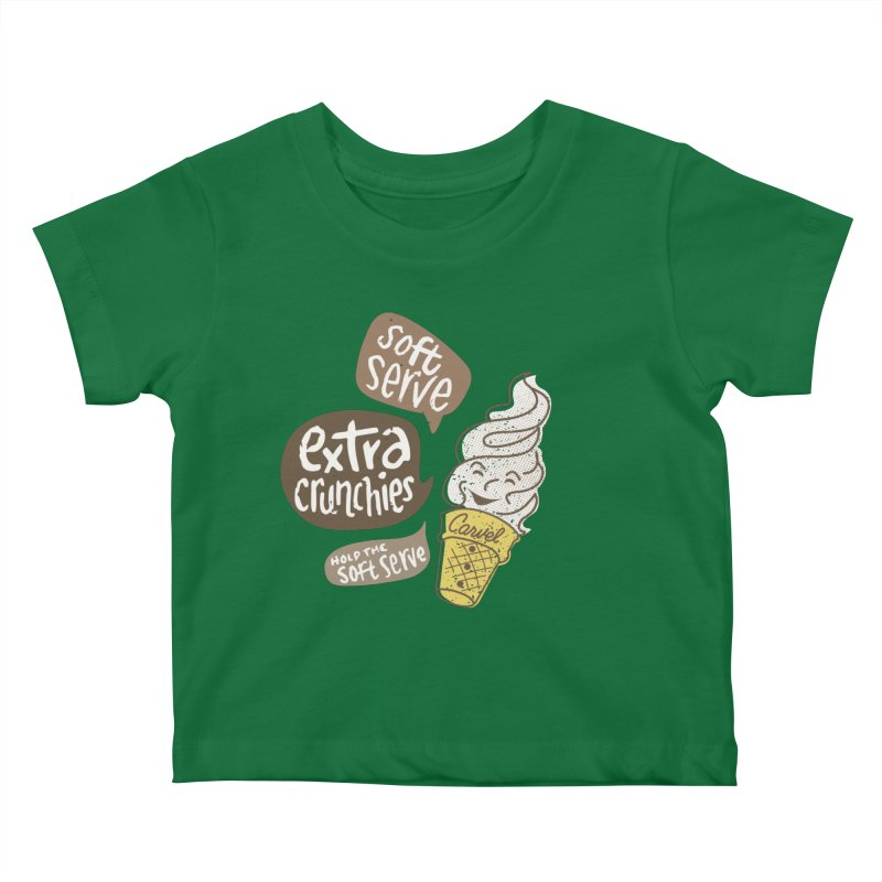Soft Serve Extra Crunchies Kids Baby T-Shirt by Carvel Ice Cream's Shop