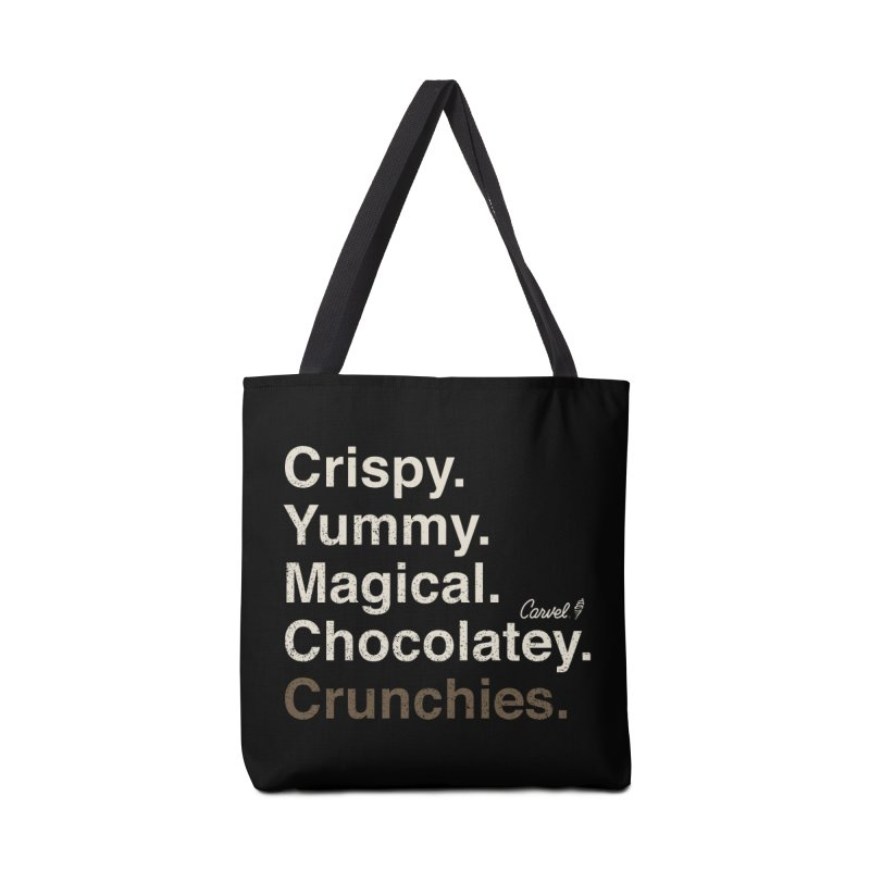 Crispy Yummy Magical Crunchies Accessories Bag by Carvel Ice Cream's Shop
