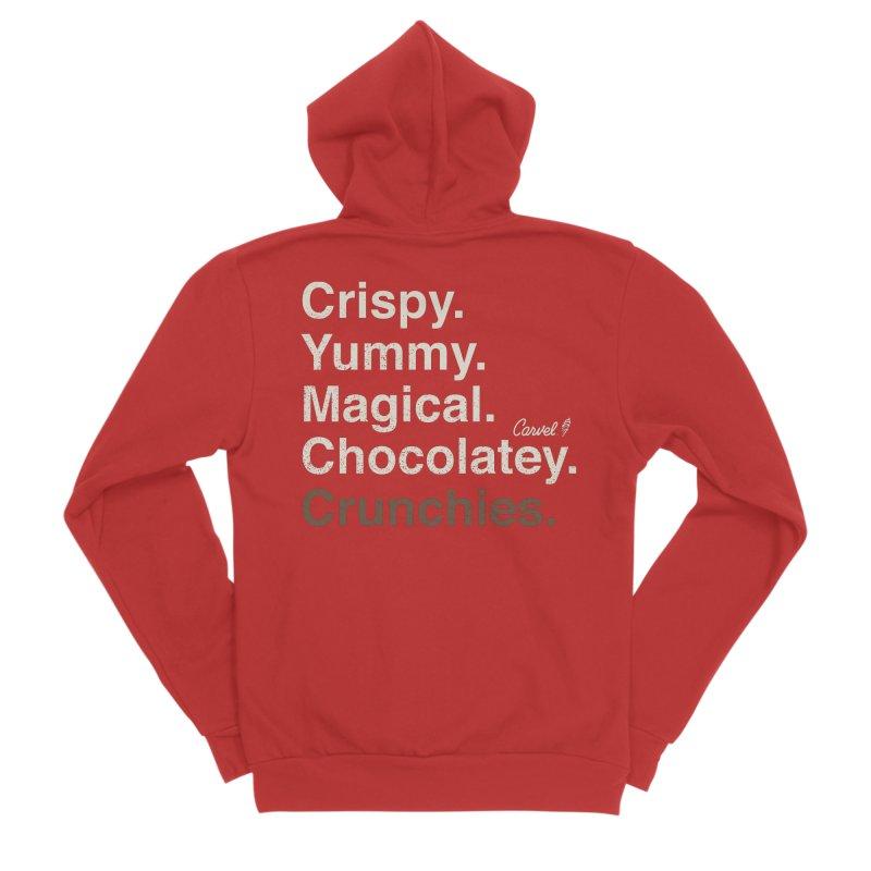 Crispy Yummy Magical Crunchies Women's Zip-Up Hoody by Carvel Ice Cream's Shop