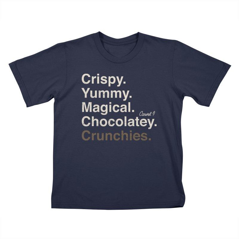 Crispy Yummy Magical Crunchies Kids T-Shirt by Carvel Ice Cream's Shop