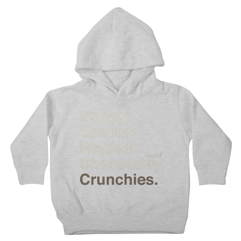 Crispy Yummy Magical Crunchies Kids Toddler Pullover Hoody by Carvel Ice Cream's Shop