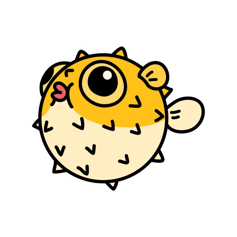 Pufferfish by Casandra Ng