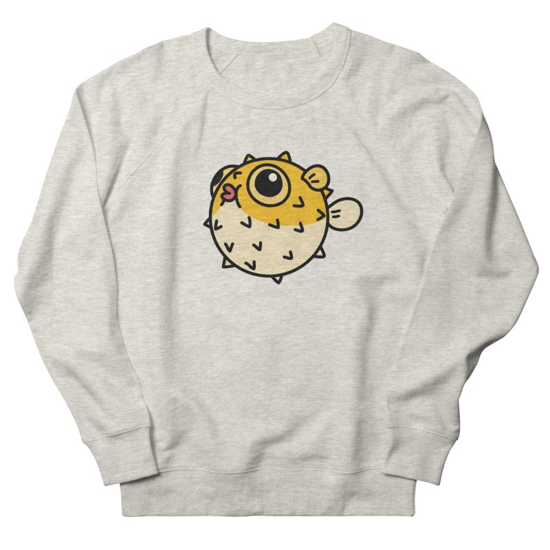 Pufferfish Women's Sweatshirt by Casandra Ng
