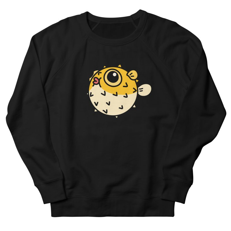 Pufferfish Men's Sweatshirt by Casandra Ng