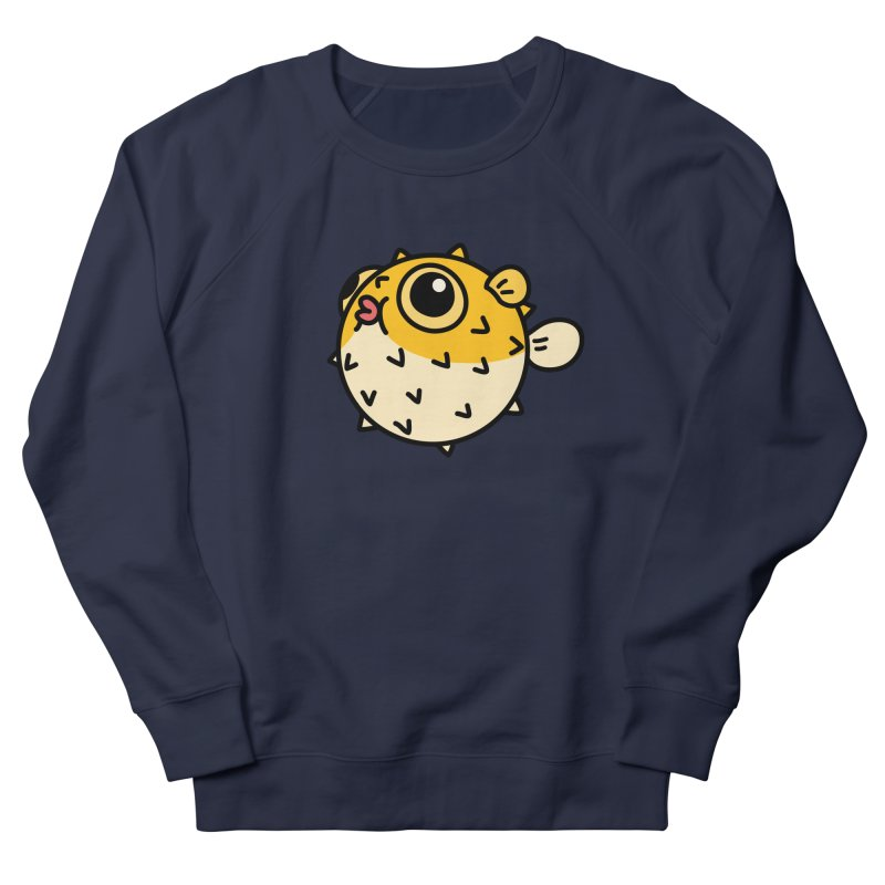 Pufferfish Men's Sweatshirt by Casandra Ng