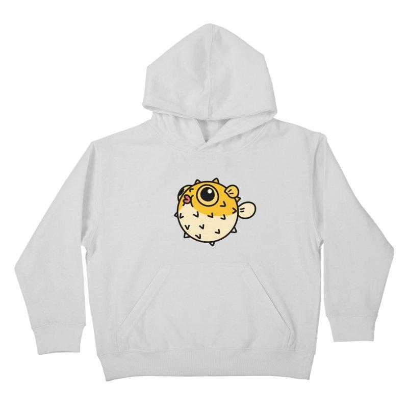 Pufferfish Kids Pullover Hoody by Casandra Ng