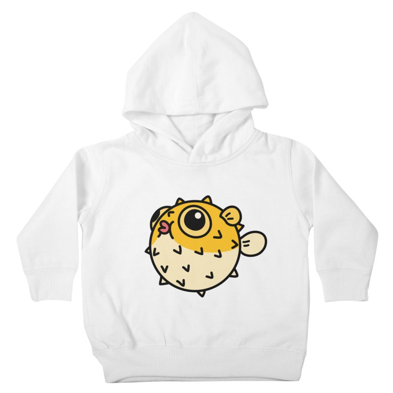 Pufferfish Kids Toddler Pullover Hoody by Casandra Ng