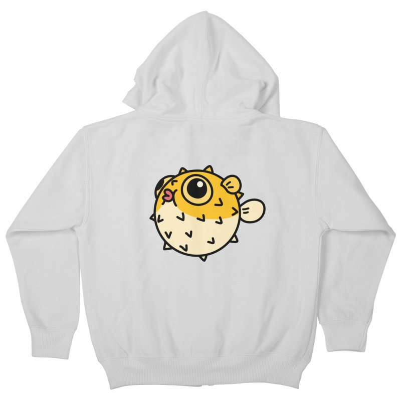 Pufferfish Kids Zip-Up Hoody by Casandra Ng