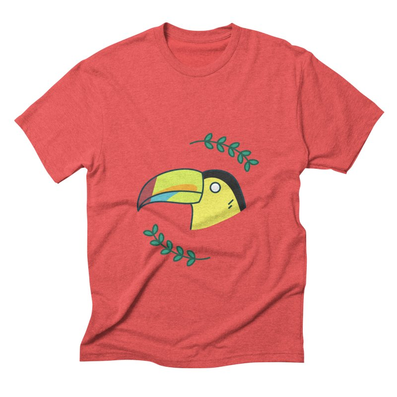 Toucan Men's Triblend T-Shirt by Casandra Ng