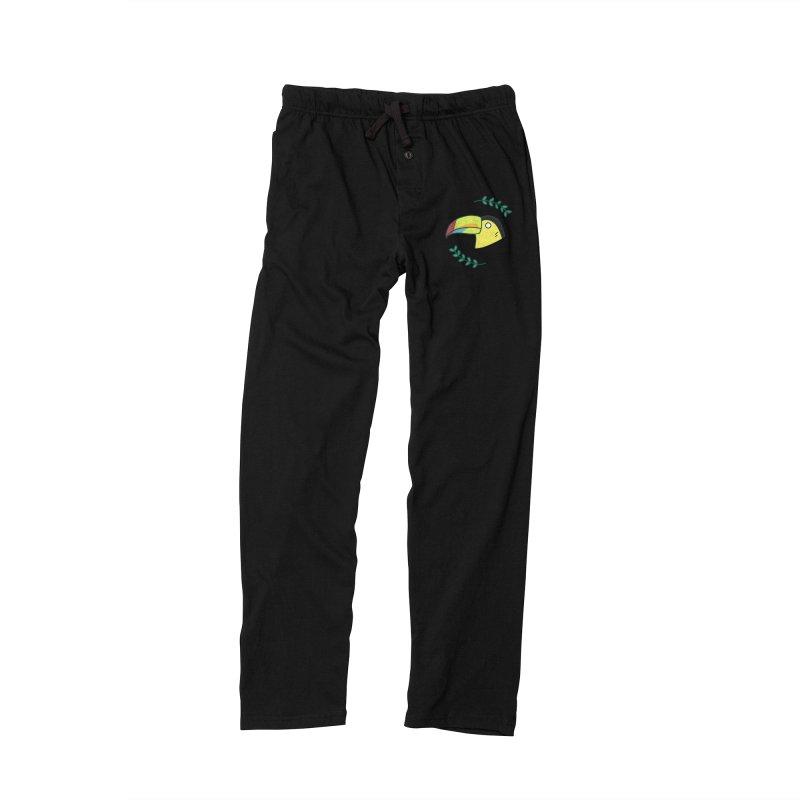 Toucan Men's Lounge Pants by Casandra Ng