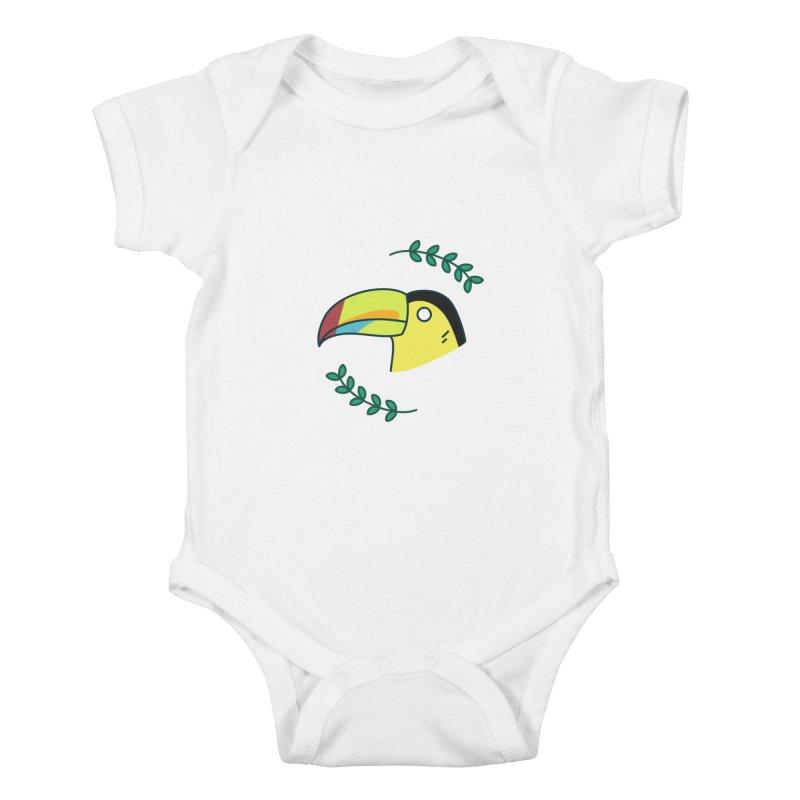 Toucan Kids Baby Bodysuit by Casandra Ng