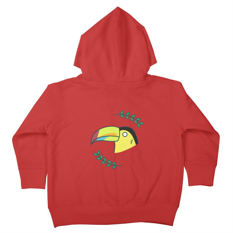 Toucan Kids Toddler Zip-Up Hoody by Casandra Ng