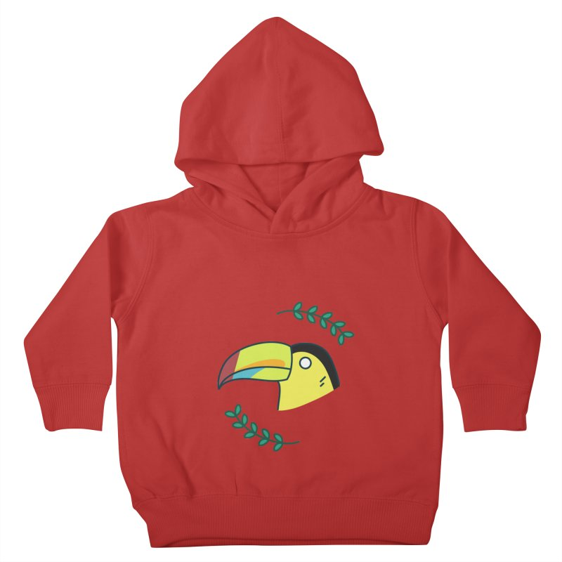 Toucan Kids Toddler Pullover Hoody by Casandra Ng