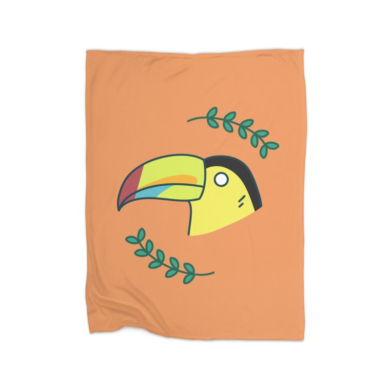 Toucan Home Blanket by Casandra Ng