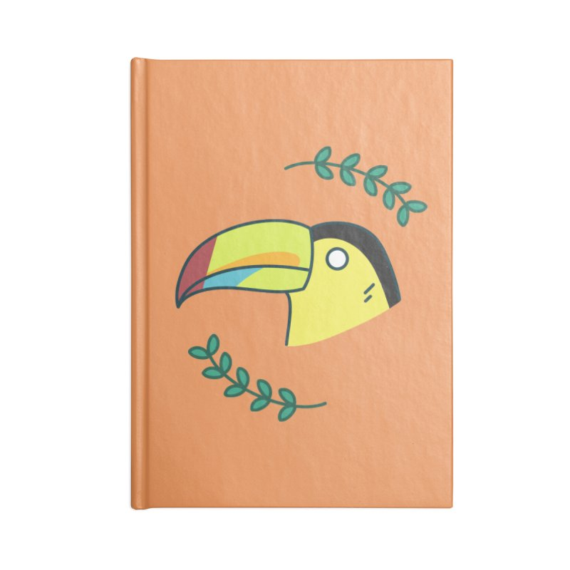 Toucan Accessories Notebook by Casandra Ng