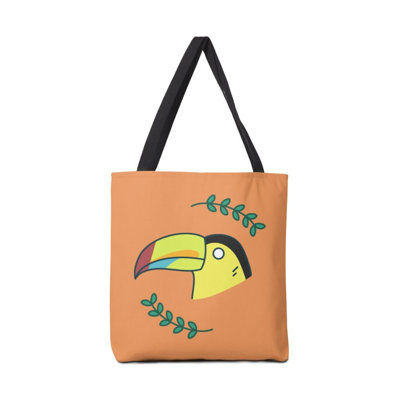 Toucan Accessories Bag by Casandra Ng