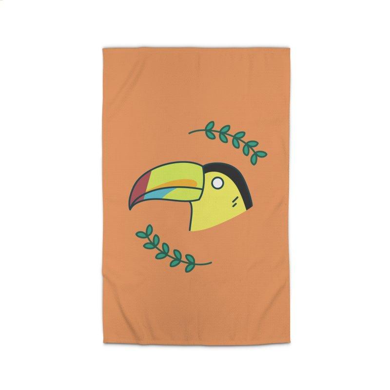 Toucan Home Rug by Casandra Ng