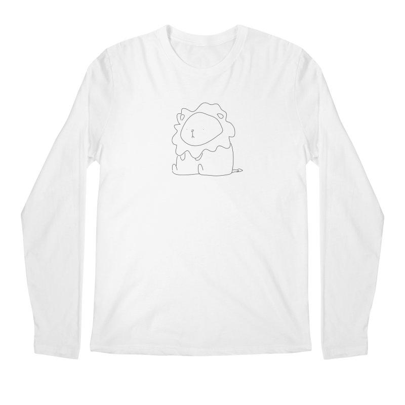 Lion Men's Longsleeve T-Shirt by Casandra Ng