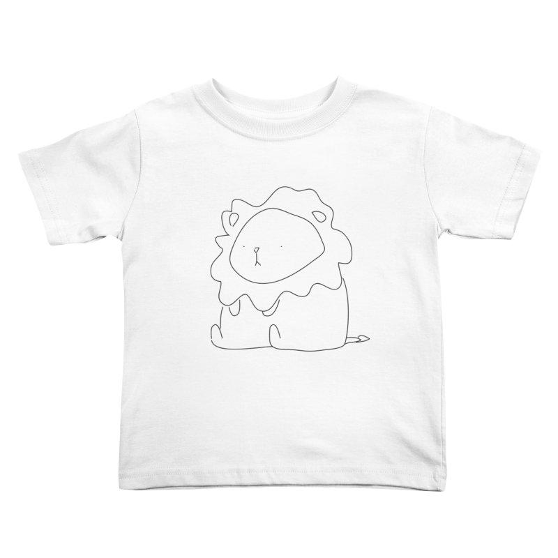 Lion Kids Toddler T-Shirt by Casandra Ng
