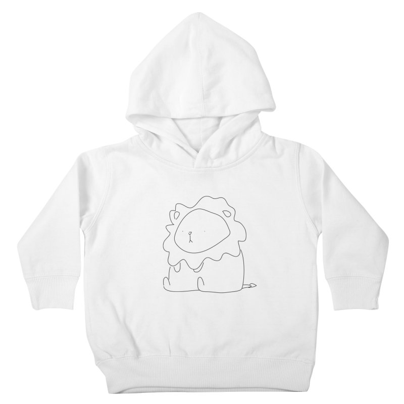 Lion Kids Toddler Pullover Hoody by Casandra Ng