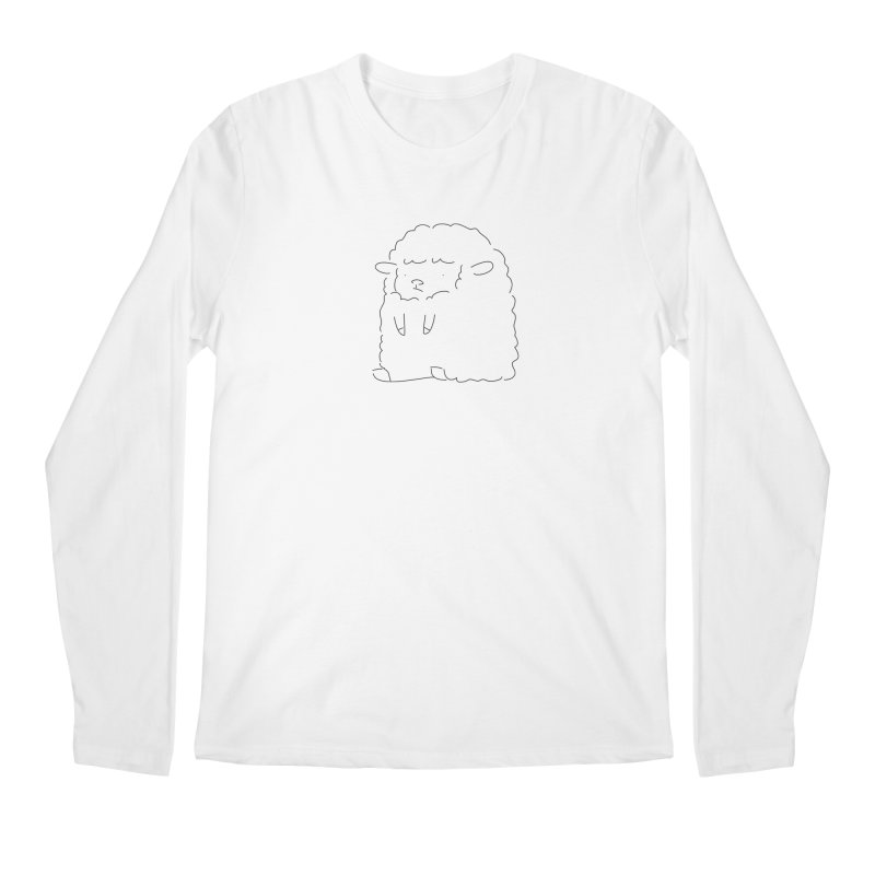 Sheep Men's Longsleeve T-Shirt by Casandra Ng