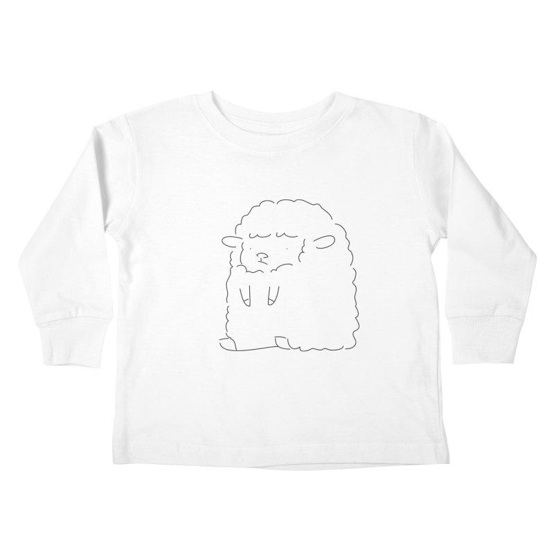 Sheep Kids Toddler Longsleeve T-Shirt by Casandra Ng