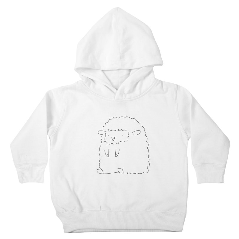Sheep Kids Toddler Pullover Hoody by Casandra Ng
