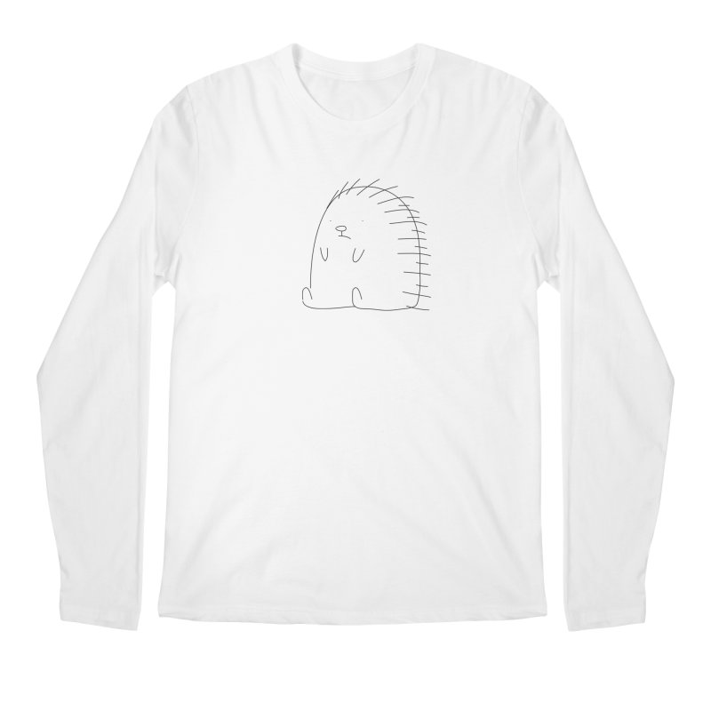 Porcupine Men's Longsleeve T-Shirt by Casandra Ng