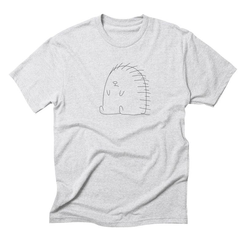 Porcupine Men's Triblend T-shirt by Casandra Ng
