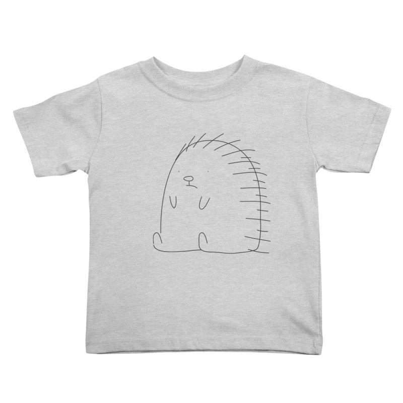 Porcupine Kids Toddler T-Shirt by Casandra Ng