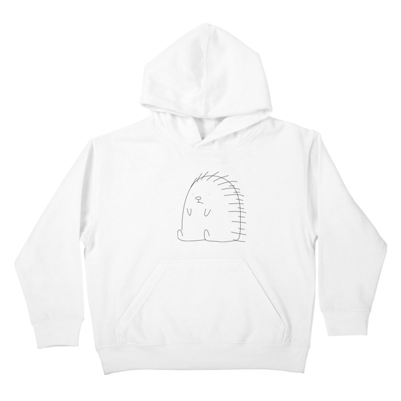 Porcupine Kids Pullover Hoody by Casandra Ng