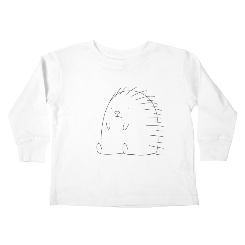 Porcupine Kids Toddler Longsleeve T-Shirt by Casandra Ng