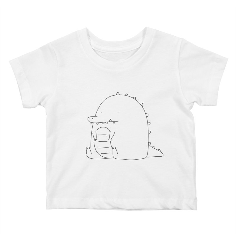 Crocodile Kids Baby T-Shirt by Casandra Ng