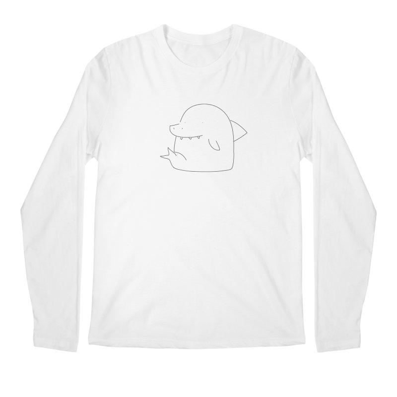 Shark Men's Longsleeve T-Shirt by Casandra Ng