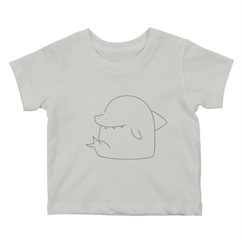 Shark Kids Baby T-Shirt by Casandra Ng