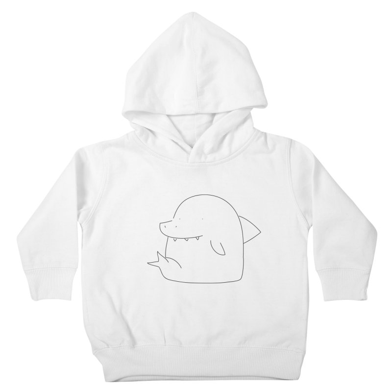 Shark Kids Toddler Pullover Hoody by Casandra Ng