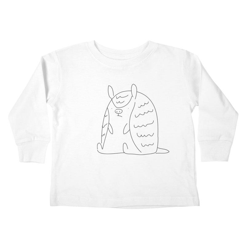 Armadillo Kids Toddler Longsleeve T-Shirt by Casandra Ng
